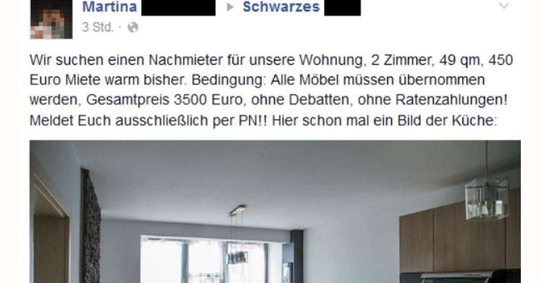 Martina sucht eigentlich nur einen nachmieter for Kuchen lieferservice berlin
